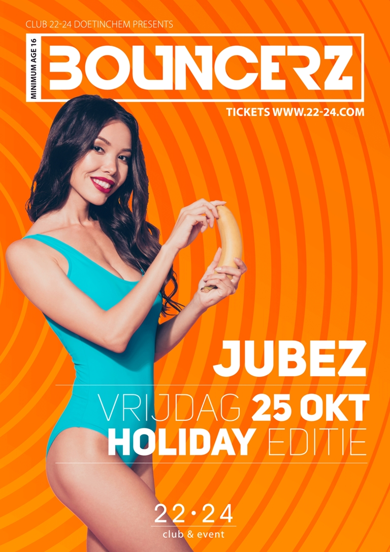 Bouncerz Holiday Edition X Jubez